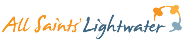 All Saints Lightwater Logo